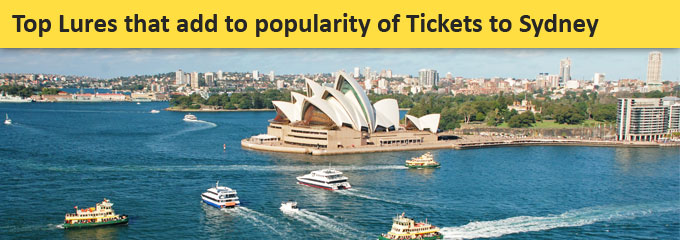 Tickets to Sydney