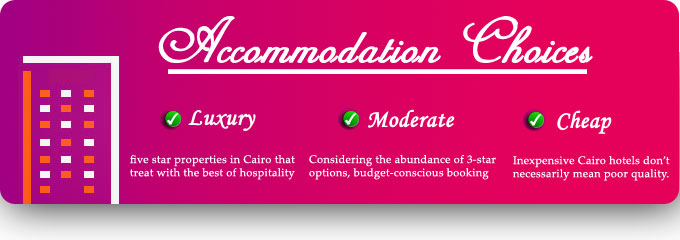 Flight Tickets To Cairo Take A Look At Accommodation Choices