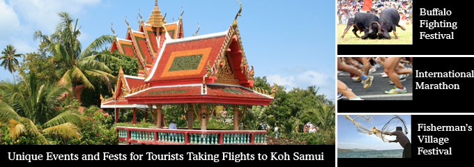 Flights to Koh Samui