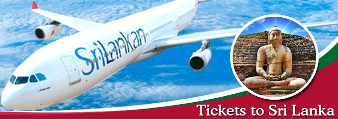 tickets to Sri Lanka