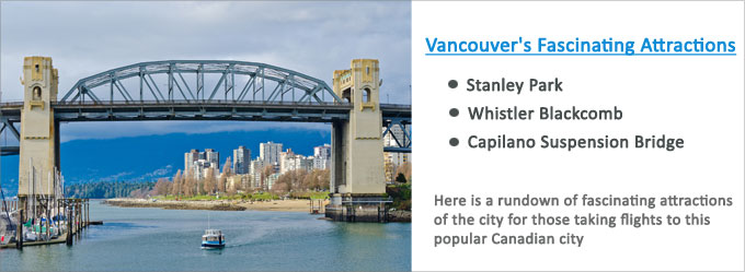 Vancouver Fascinating Attractions Beckon Tourists