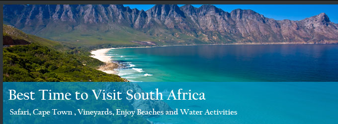 Best Time To Visit South Africa An Overview