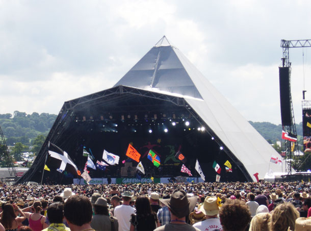 Glastonbury Festival by  David Sim / CC BY