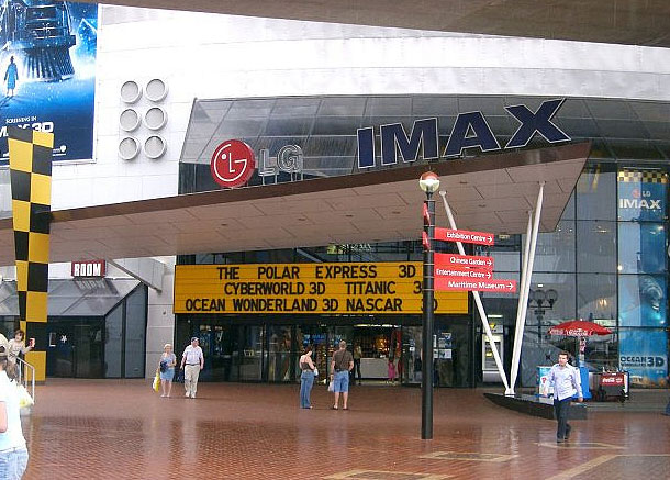 IMAX @ Darling Harbour, Sydney, Australia by Edwin Lee / CC BY