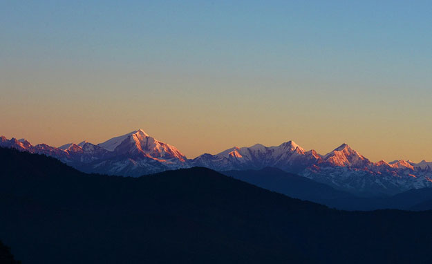 Himalayan ranges of Arunachal Pradesh by Koshy Koshy / CC BY