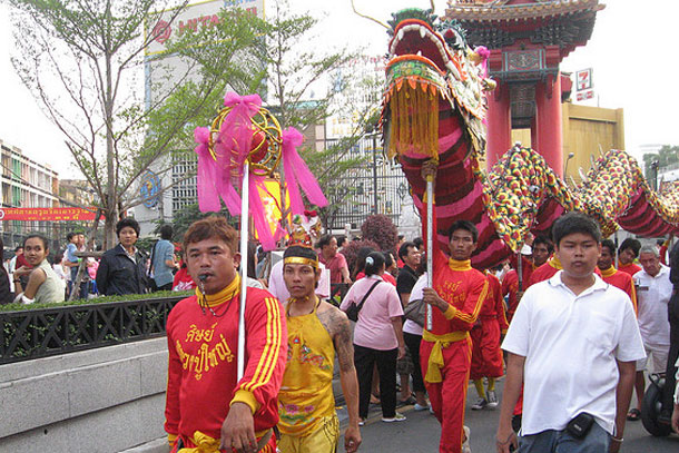 Chinese New Year Festival by Chris Feser/ CC BY