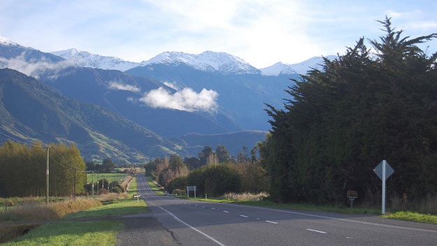 Kaikoura by Edwin Lee/ CC BY