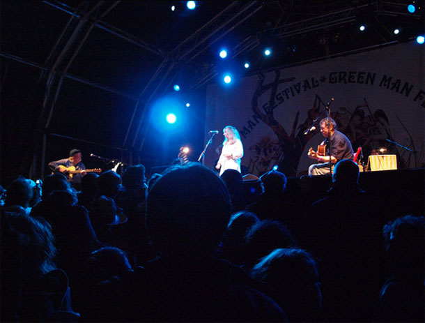 The Green Man Festival by Nicholas Smale/ CC BY