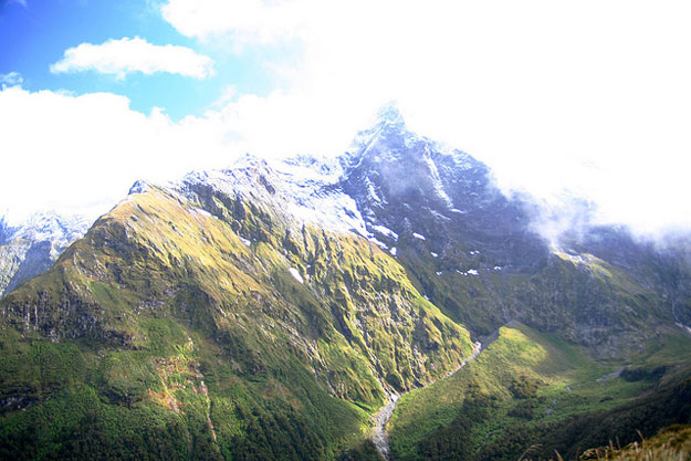 The Milford Track by Fred Hsu/ CC BY