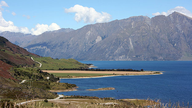 Lake Hawea  by Anthony Cramp/ CC BY