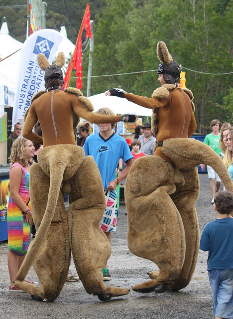Woodford Folk Festival  by Jan Smith/ CC BY