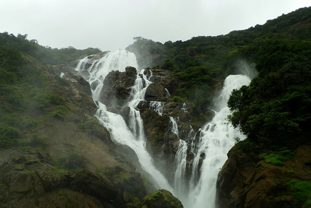 Dudhsagar-Waterfalls