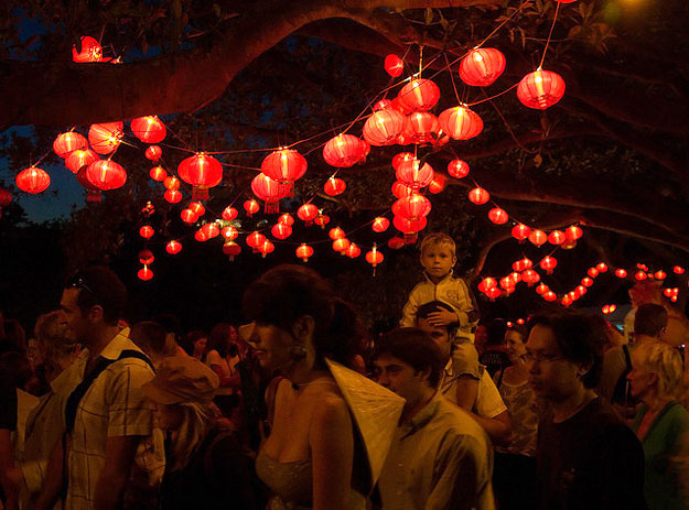 Auckland Lantern Festival by wonderferret/ CC     BY