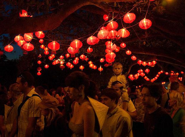 Auckland Lantern Festival by wonderferret/ CC     BY