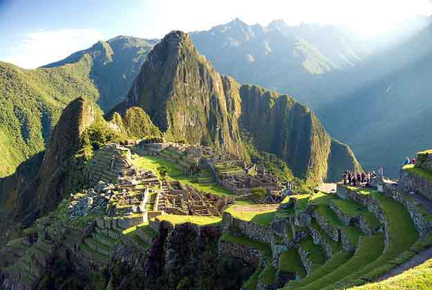 Huayna Picchu, Peru by Rocco Lucia/ CC     BY