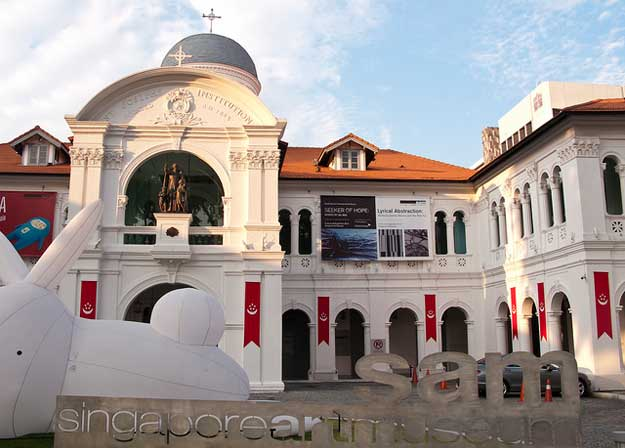 Singapore Art Museum by prilfish/ CC BY