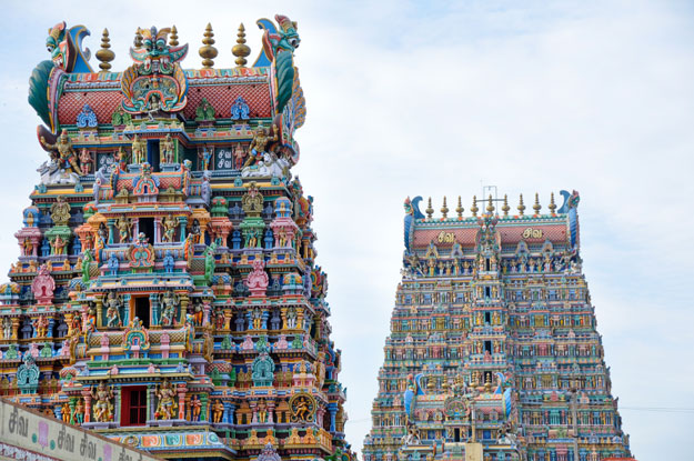 Famous Hindu Temples in 'God's Own Country' Kerala, India